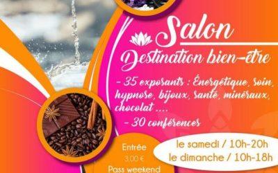Salon Destination bien-être les 22 et 23 septembre 2018